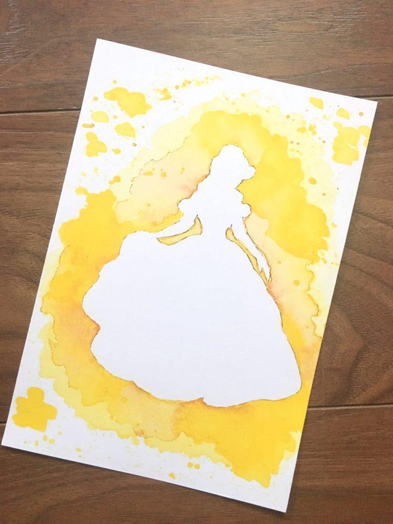 Belle Print from SweetAllureShop on Etsy