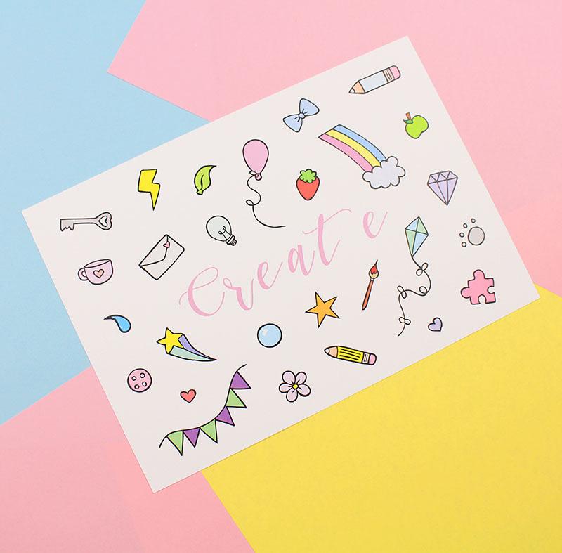 Create Print by Pastel Elixir